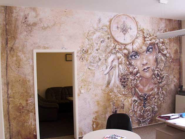 Wand Gestaltung exklusive wandgestaltung kunst schoenwald gmbh münchen